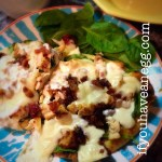 Chicken Bacon Naan Pizza – 9 Weight Watchers Smart Points (7PPV)