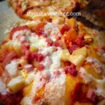 Game Day Pizzas: Pineapple and Ham – 9 Weight Watchers Smart Points