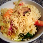 Veggie Lo Mein – 4 Weight Watchers Points Plus per serving