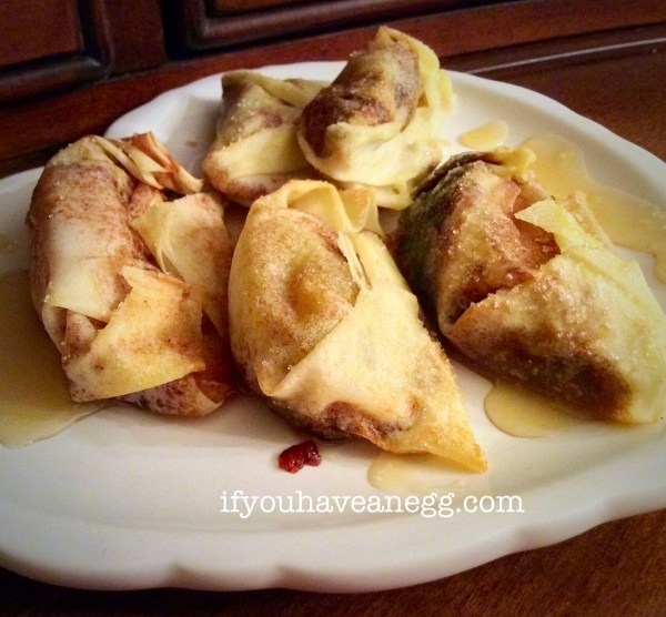 Yummmmy Fried Apple Mini Turnovers
