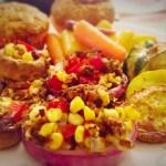 Fiesta Stuffed Veggies – 1 Weight Watchers Smart Point per serving (vegan/vegetarian)