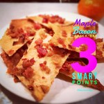 "Maple Bacon ""Crack""ers: 3 Weight Watchers Smart Points"