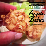Cinnamon Streusel Apple Bites: 1 Smart Point per serving