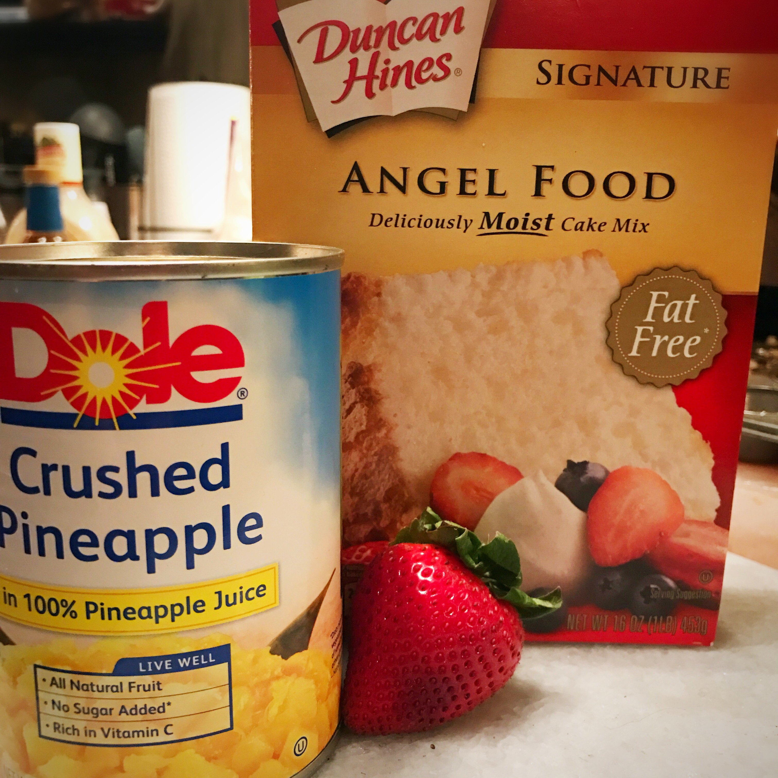 weight watchers pineapple angel food cake points plus