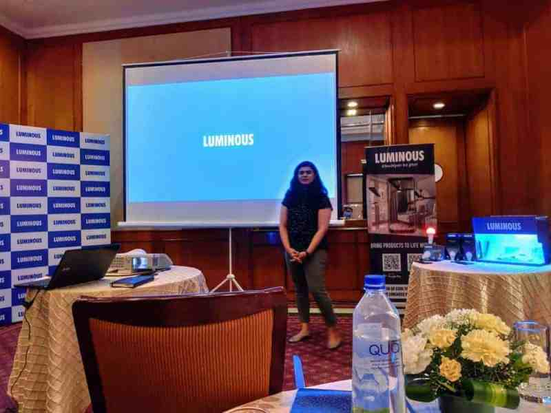 Luminous introduced luminous home that uses Augmented Reality to display the view of interiors - 4