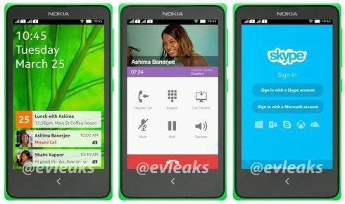 Nokia Android phone - Normandy - leaked by Evleaks - 1