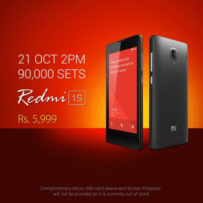 redmi-1s-oct-21-8th-sale