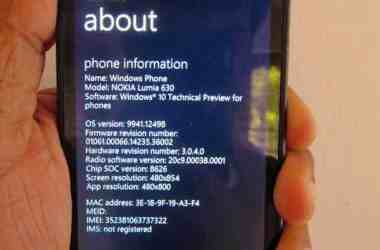 How To: Install Windows 10 Technical Preview on your Windows phone - 9
