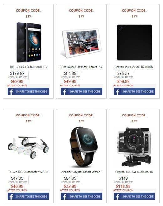 Gearbest-cyber-monday-coupon-code-activity-mega-discount