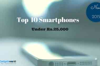 Top 10+ Smartphones Under Rs 25,000 in India-Nov-2015 [Diwali] - 3