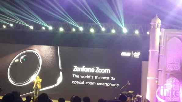 Launch of ZenFone Zoom- Worlds thinnest 3X Optical Zoom