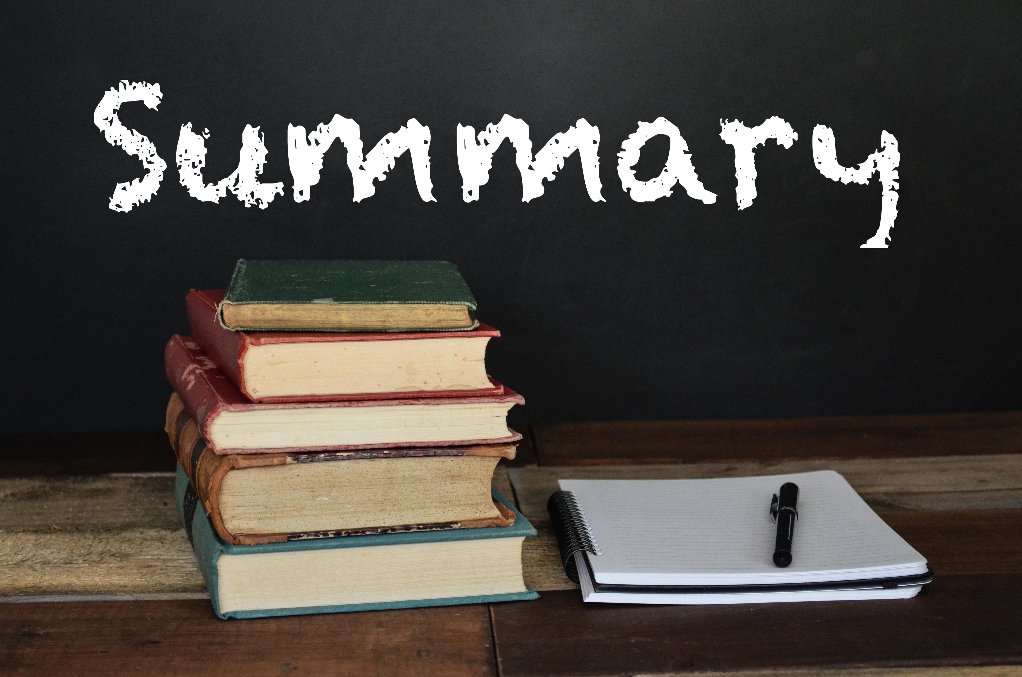 How To Write A Summary Igcse Centre