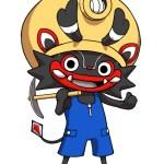 レベルファイブより同社作成の大牟田市公式キャラクター 「ジャー坊」が発表