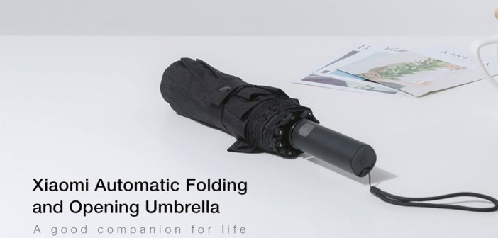 Xiaomi waterproof automatic foldable umbrella