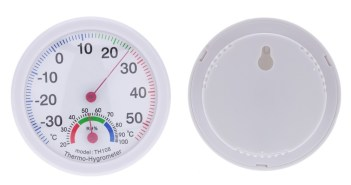 35~55°C mini indoor analog temperature humidity meter