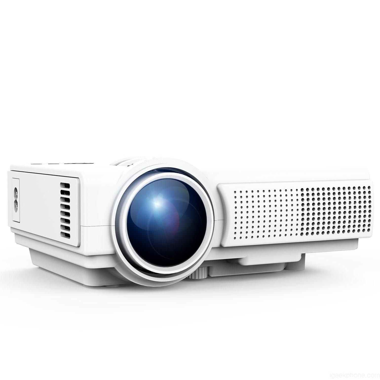 TENKER Q5 Projector 1500 Lumens LED Mini Projector Brand New