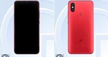 Xiaomi Mi 6X TENAA Images