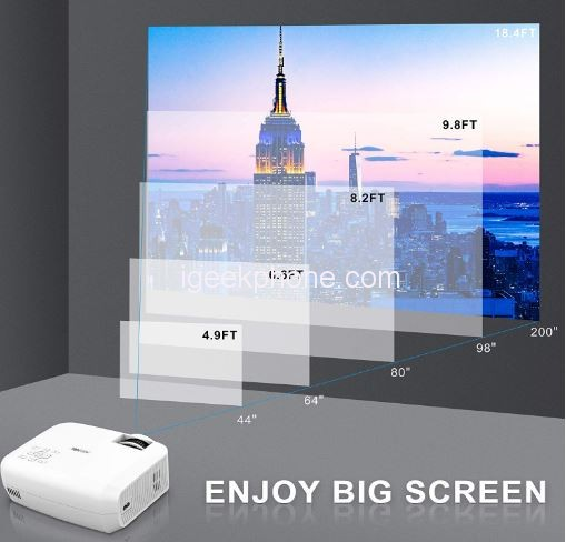 Buy The Topvision Native 720p Full Hd Led Projector 2019 For 139 99 Coupon Included Igeekphone China Phone Tablet Pc Vr Rc Drone News Reviews
