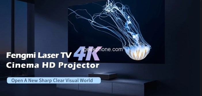 Xiaomi Fengmi Projector Review 4k Cinema Hd Laser Projector For Just 1818 99 At Gearbest Igeekphone China Phone Tablet Pc Vr Rc Drone News Reviews