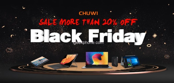 Chuwi's Black Friday Sale With Up To 20% OFF on Amazon & UBook Pro in Giveaway