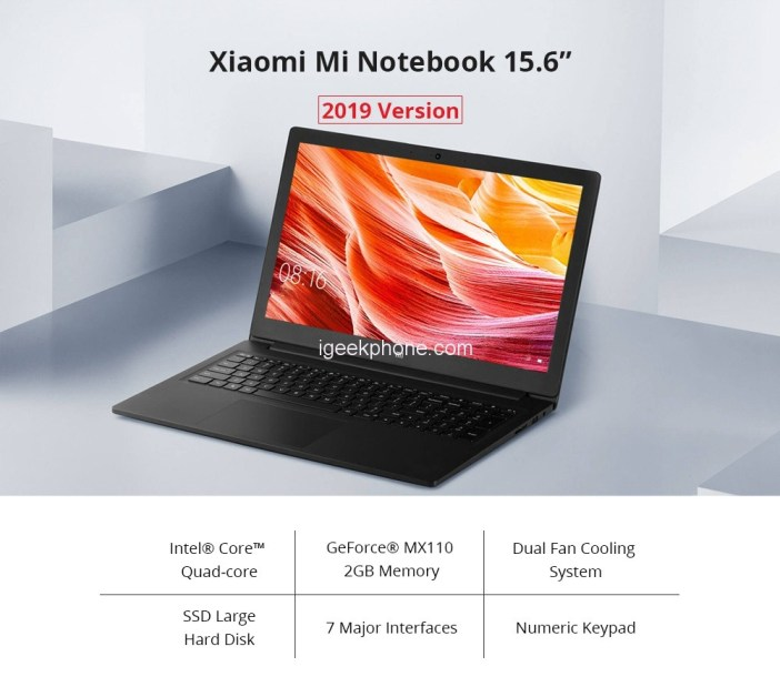 Buy Xiaomi Mi Notebook Ruby 2019 Redmibook 13 At 789 99 859 99 At Gearbest Coupon Igeekphone China Phone Tablet Pc Vr Rc Drone News Reviews