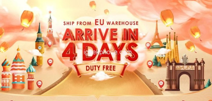 Amazing Offer On BANGGOOD: Ships from EU warehouse and arrive in 4 days(Duty Free)