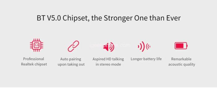 QCY T1C TWS True Wireless Earphone