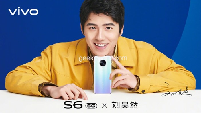 Vivo S6 5G Launch On 31 March