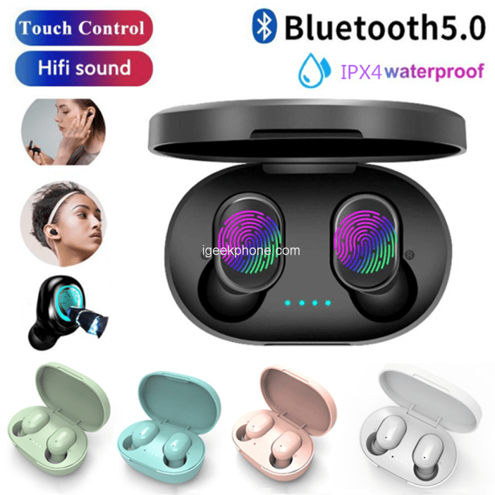 A6S Bluetooth 5.0 Mini Touch Earbuds