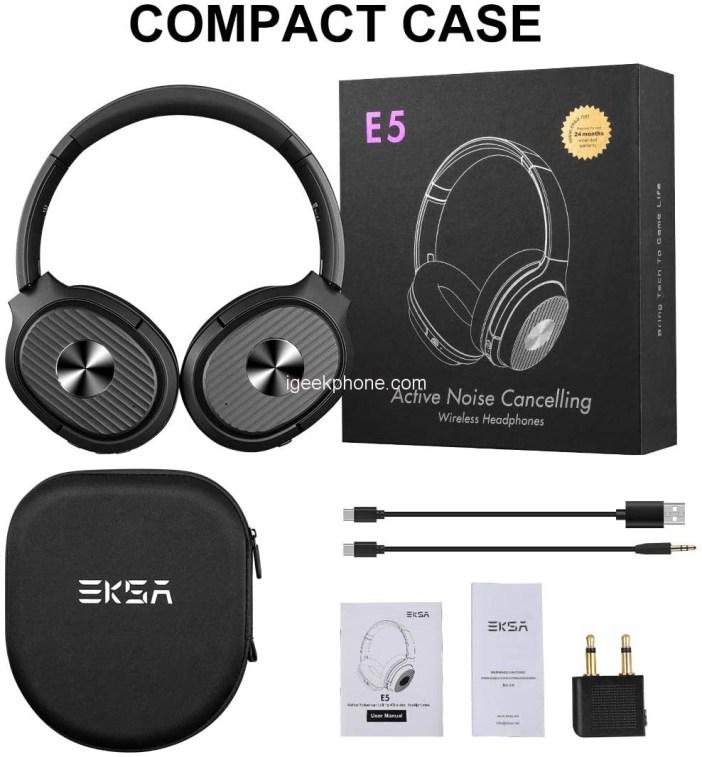 EKSA Active Noise Cancelling Headphones