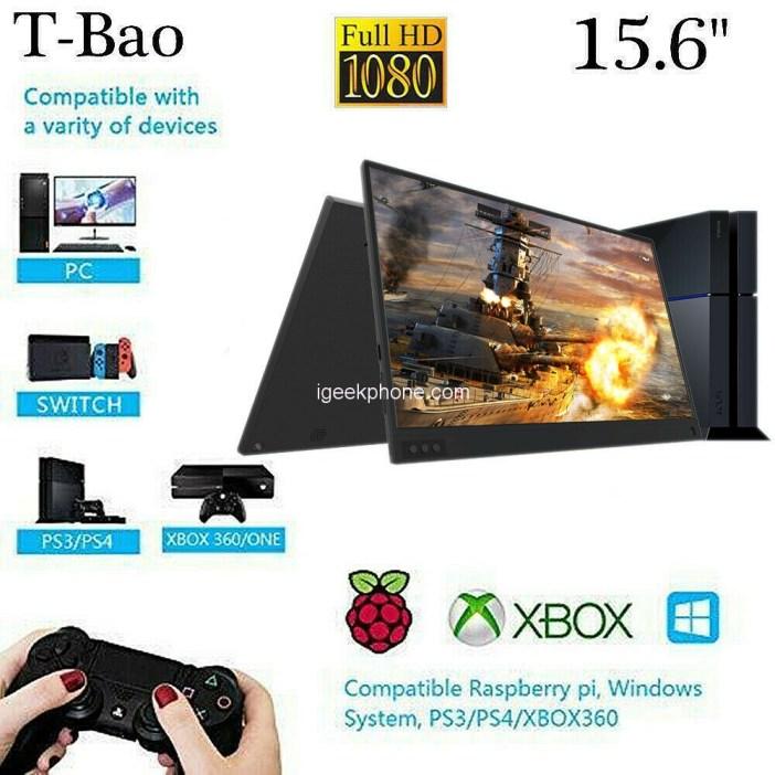 T-bao Portable Gaming Monitor