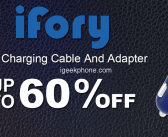 Ifory Brand  Special Offer is Here Brings You Fast Charging Cables And Adapter @Tomtop (Upto 60% Off)