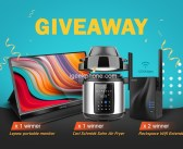Tiktech Back to School Giveaway Start!! Enter and Win Lepow Portable Monitor & More Prizes until August 5th