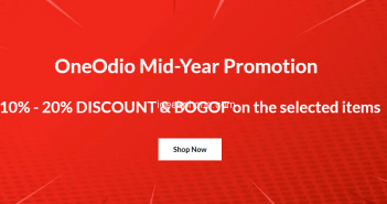 Oneodio Headphones Mid-year promotion is Here !! Get 10%-20% Discount