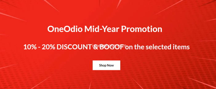 Oneodio Headphones Mid-year promotion