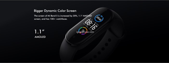 Xiaomi Mi Band 5 Wristband