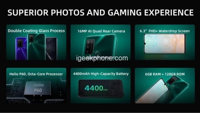 Doogee N20 Pro Smartphone