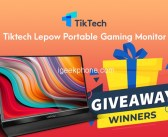 Win Lepow Portable Monitor in New TikTech Giveaway Round Until September 4th