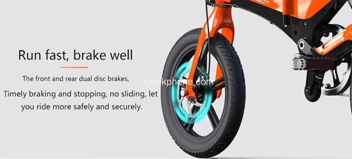 ONEBOT S6 Portable Folding Electric Bike