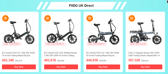 FIIDO Electric Bikes