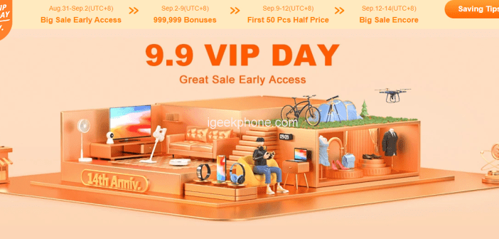Banggood 9.9 VIP Day Sale Is Here !! Get All Products in Cheapest Cost