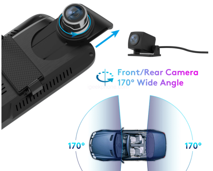 ThiEYE CarView3 Full HD1080P 2.5K DVR Camera