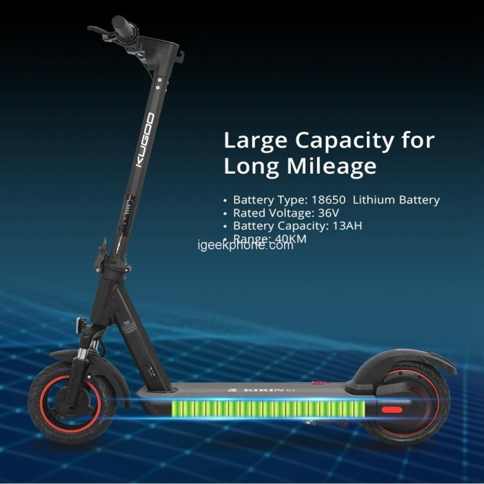KUGOO KIRIN G1 Folding Electric Scooter