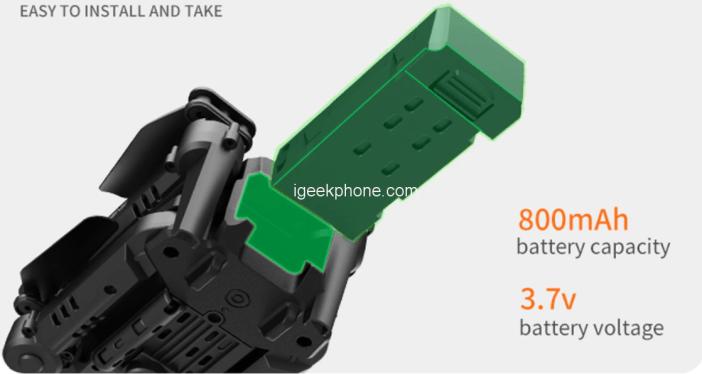 GD93 Mini Folding Rc Drone