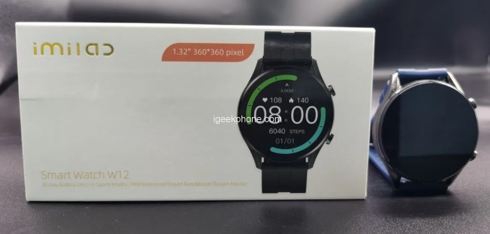 Imilab Smart Watch W12 – a Smartwatch with a Great Display
