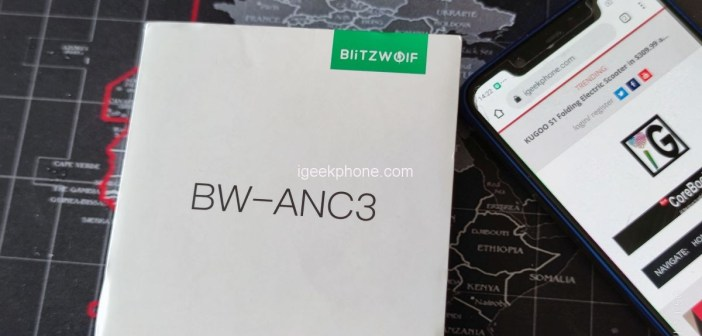 BlitzWolf® BW-ANC3 wireless headphones with dual ANC and 6 Mic HD Call are a must see!(video)