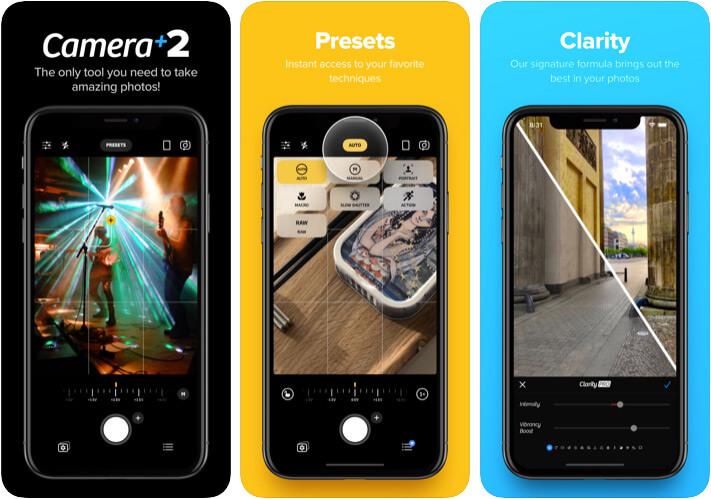 Camera Plus 2 Приложение для камеры iPhone 11 Pro Max