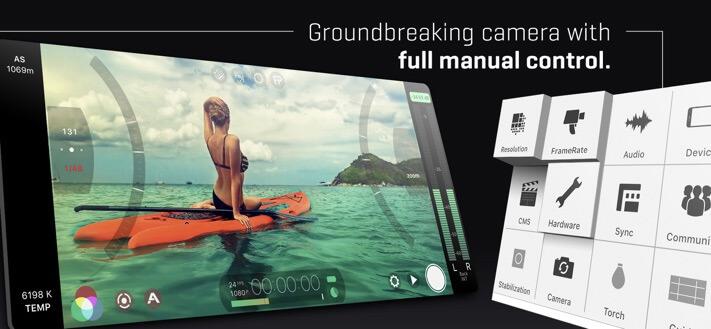 Приложение FiLMiC Pro Camera для iPhone 11 Pro Max