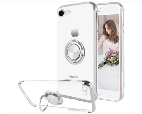 Чехол Ownest Ring Holder для iPhone SE 2020