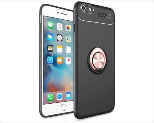 Чехол iCoverCase Ring Holder для iPhone SE 2020